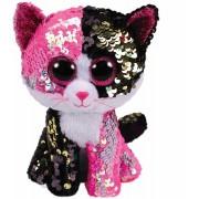 Plus TY 15 cm Boss Pisica Malibu cu paiete