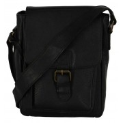 Via Borgo Ranger by Torfs Zwarte Crossbody Tas