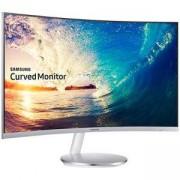 Монитор Samsung C27F591FDUX, 27 инча CURVED VA LED, 4ms, 1920x1080, DP, HDMI, D-SUB, 250cd/m2, Mega DCR, 178/178, Бял, LC27F591FDUXEN
