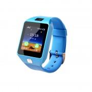 Q06 Smart Watch Support SIM TF Cards Phone Kids Baby Camera Call Bluetooth Locator SmartWatch - Blue