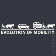 T-shirt Evolution of Mobility