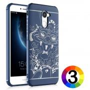 Huawei Y7 Prime Enjoy 7 Plus Удароустойчив DP Калъф и Протектор