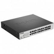 Switch d-link 24 porturi Gigabit PoE inteligent switch (DGS-1100-24P)
