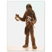 Star Wars Power of the Jedi Millennium Falcon Mechanic Chewbacca Action Figure
