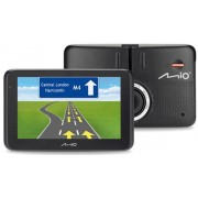 "Sistem de navigatie + Camera video integrata Mio MiVue Drive 50 LM, TFT LCD 5"", Procesor 800MHz, 4GB Flash, 128MB RAM, Filmare FullHD 1080p, Microsoft Windows CE 6.0, Actualizari pe viata a hartilor, Harta Full Europa"