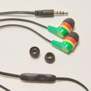 House - Słuchawki z mikrofonem do smartphona - Zielony