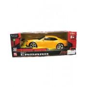 Xq Toys 1/18 Scale 2011 Chevrolet Camaro Rs Ss Yellow W/ Black Stripes Radio Remote Control Car Rc (Black And Yellow)