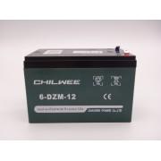 Acumulator bicicleta electrica CHILWEE DZM 12V 12Ah model 6-DZM-12