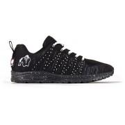 Gorilla Wear Brooklyn Knitted Sneakers (unisex) - Zwart/Wit - 37