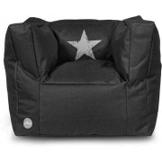 Jollein outlet Stonewashed - Kinderstoel/Beanbag - Faded Star