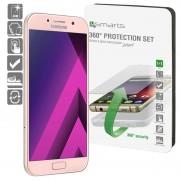 Conjunto de Protecção 4smarts 360 para Samsung Galaxy A3 (2017) - Transparente