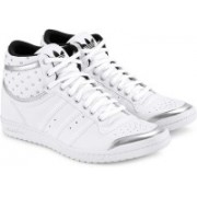 ADIDAS ORIGINALS Top Ten Hi Sleek Up W Mid Ankle Sneakers For Women(White)