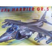 Bae Harrier Gr 5 Jet 1 72 Scale Model BY Italeri