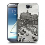 Husa Samsung Galaxy Note 2 N7100 Silicon Gel Tpu Model Vintage City