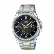 Casio MTP-1375SG-1AVDF reloj analogico - plata + negro (sin caja)