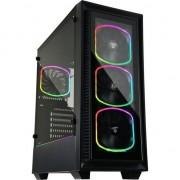 Carcasa PC Enermax StarryFort SF30 ATX (ECA-SF30-M1BB-ARGB) , Micro ATX , Mini ITX, ATX , Turnul Midi