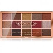 Makeup Revolution Foil Frenzy paleta de sombras de ojos metálicas tono Fusion 15 x 1,1 g