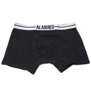 Alan Red Underwear Boxershort Lasting Black Two Pack