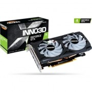 Placa video Inno3D GeForce 1660 GTX OC Super Twin X2 RGB (N166S2-06D6X-1712VA15LB) , 6GB , GDDR6 , 192 bit