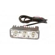 Superlight 9W 12V / 24V přídavné pracovní světlo LED hranaté