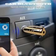 Favourite Deals Multi-Function Golden Bluetooth Pen Audio Bluetooth Receiver Car Bluetooth