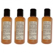 Khadi Honey and Vanilla Shampoo 210 ML (Pack of 4)