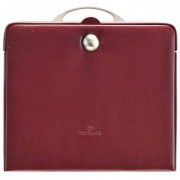 Windrose Merino Charmbox Caja para joyas joyero 25,5 cm Rot