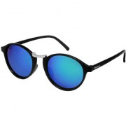Walrus James Multicolor Mirror Color Unisex Oval Sunglass - WS-JAMES-210207