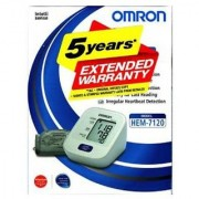 Omron HEM-7120 Automatic Blood Pressure Monitor with 5 years Extended Warranty