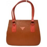 Fashion Fanda FF023 Shoulder Bag(Brown, Pink, 10 inch)