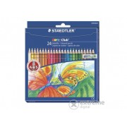 """Creioane colorate Staedtler """"Noris Club"""", 24 culori"""