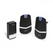 Digitális elem- és vezeték nélküli csengő - Kinetic - (55342BK-2)