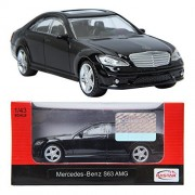 RASTAR Mercedes-Benz S63 AMG Black 1:43 Die-cast CAR minicar Toy