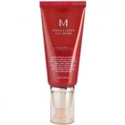 Missha M Perfect Cover crema BB de protección UV alta tono No. 13 Bright Beige SPF42/PA+++ 50 ml