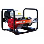 Generator De Curent Agt 7501 Hsb 6.4 Kva, Motor Honda Gx390, 6.1 L