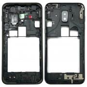 Samsung Midden Frame Bezel voor Galaxy J2 Core / J260 (zwart)