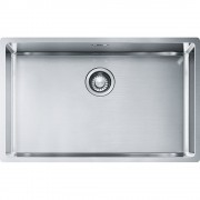 Chiuveta Franke Box BBX 210/110-68 Inox lucios 127.0369.284, 685x410, 1B, Sottotop/Semifilo/Filotop
