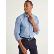 Boden Blau Schmales Popelinehemd mit Cutaway-Kragen Herren Boden, XL, Blue