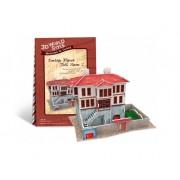 Puzzle 3D CubicFun CBFB Casa turceasca Model 2