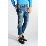 Dsquared2 Jeans Glam Head In Denim 16cm Primavera-Estate Art. 84967