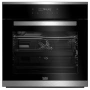 Cuptor incorporabil Beko BIMM25400XPS, Electric, 14 Functii, 3D cooking, 71 l, Clasa A, Pirolitic, Touch Control, Sonda carne, Inox/Negru