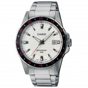 Reloj Casio MTP-V004D7B-Plateado