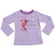 Jordbær Marie T-shirt, lange ærme 114 cm (Strawberry shortcake tøj, lilla)
