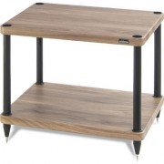solidsteel S-32 Audio Rack 2 Shelf- Walnut