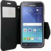 Husa Flip Goospery My-WinFancy Samsung Galaxy J5 J500 2015 Alb/Negru