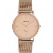 OOZOO Timepieces Horloge Vintage Rosé Goud C9922