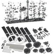 Playtastic Circuit à bille ''Montagnes Russes'' - 682 pièces