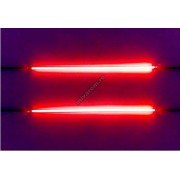 Tub neon stroboscopic 12 inch rosu