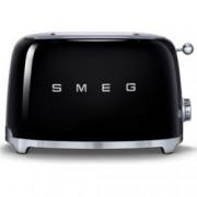Тостер Smeg TSF01BLEU, функция отказ, автоматично центриране на филийките хляб, автоматично изваждане на филийките след печене, aвтоматично изключване, 7 степени на изпичане, 950 W