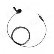 BOYA BY-LM10 Omni Direccional Lavalier Mic para IPHONE? Samsung - Negro